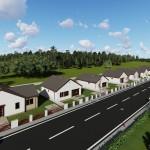 Új építésű családi ház Levélen az ausztriai határtól 5 perc távolságra