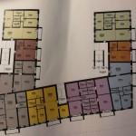 Lajosvárosi  új építésű lakóparki  98 es tetőtéri lakás eladó