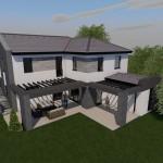 Építési telek, kész alappal, 5%-os ÁFA-val