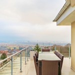 Dunai panorámás, 100 nm-es teraszos penthouse lakás kiadó