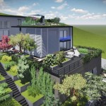 2018-ban épült, modern, minimál stílusú luxus családi ház eladó