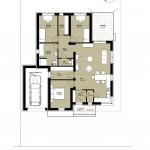 Levélen új, tégla építésű, földszinti családi házak eladók!